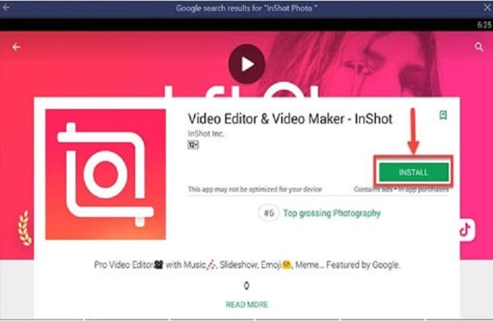 inshot video editor